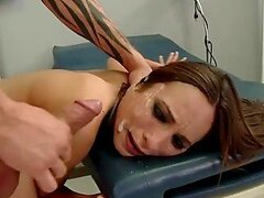 facial cumshot tube from BravoTeens