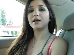 Teens video: sex in the car